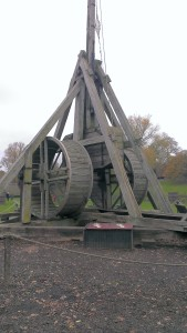 It's a Trebuchet. (Full Scale.)