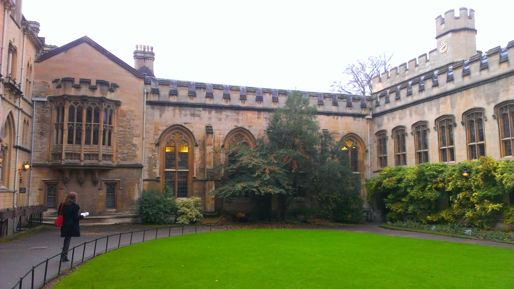 Balliol College, inner court